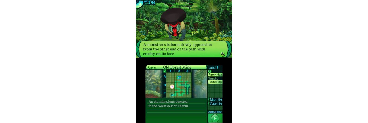 Скриншот игры Etrian Odyssey IV: Legends of the Titan (Б/У) для 3DS
