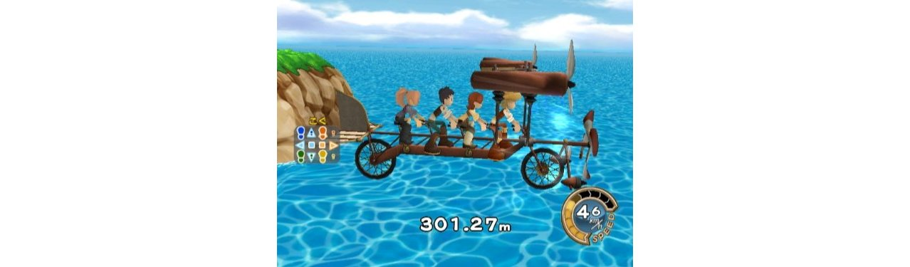 Скриншот игры Family Trainer: Treasure Adventure для Wii