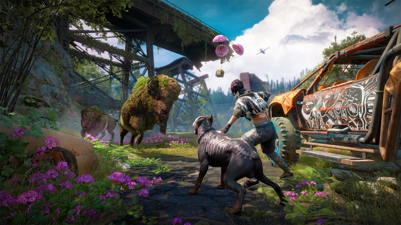 Скриншот игры Far Cry New Dawn (Б/У) для PS4