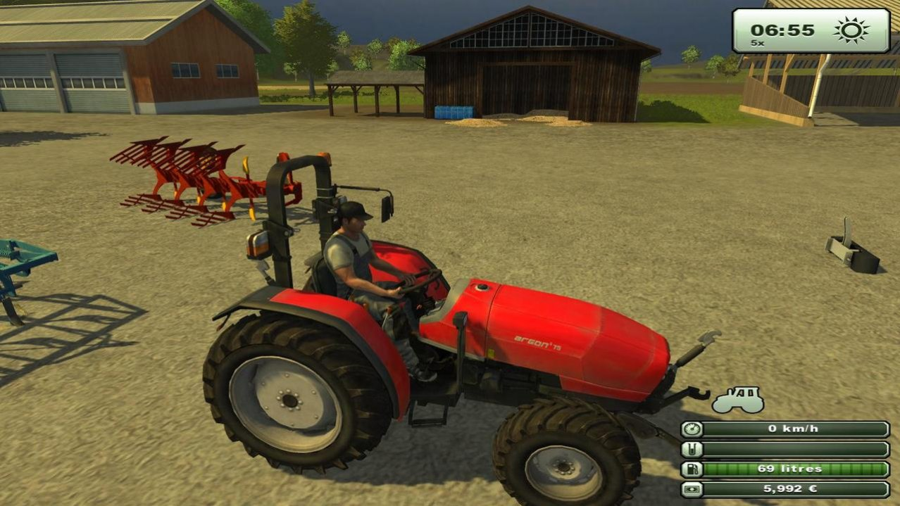Скриншот игры Farming Simulator 2013 (Б/У) для PS3