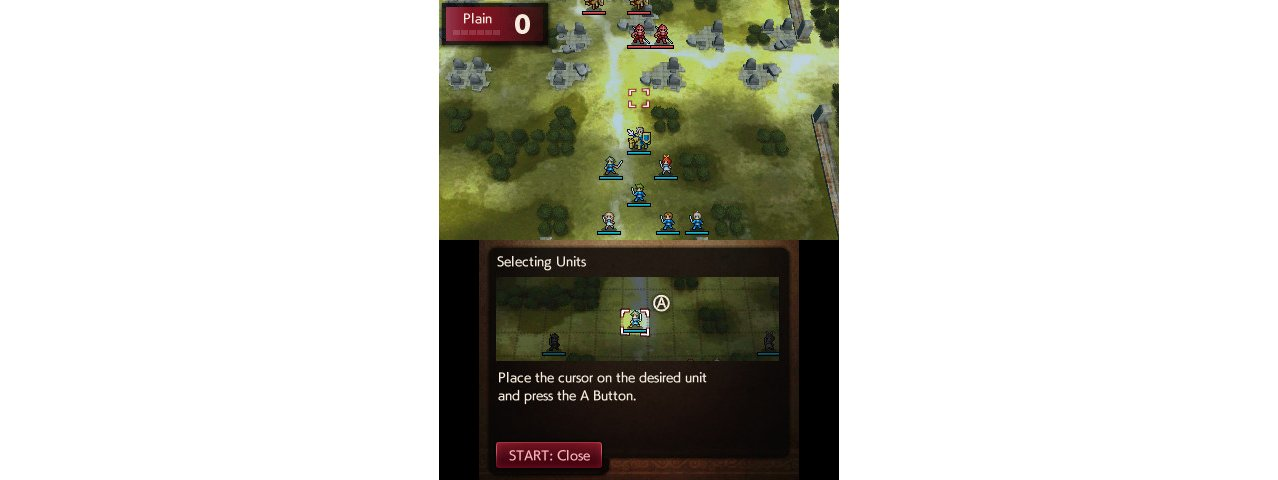 Скриншот игры Fire Emblem Echoes: Shadows of Valentia для 3DS