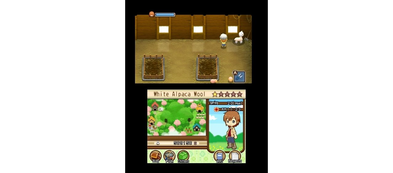 Скриншот игры Harvest Moon: Tale of Two Towns для 3DS
