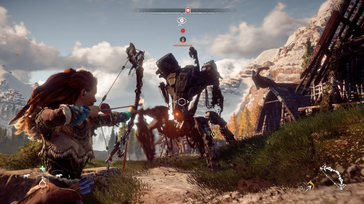 Скриншот игры Horizon: Zero Dawn (Б/У) для PS4