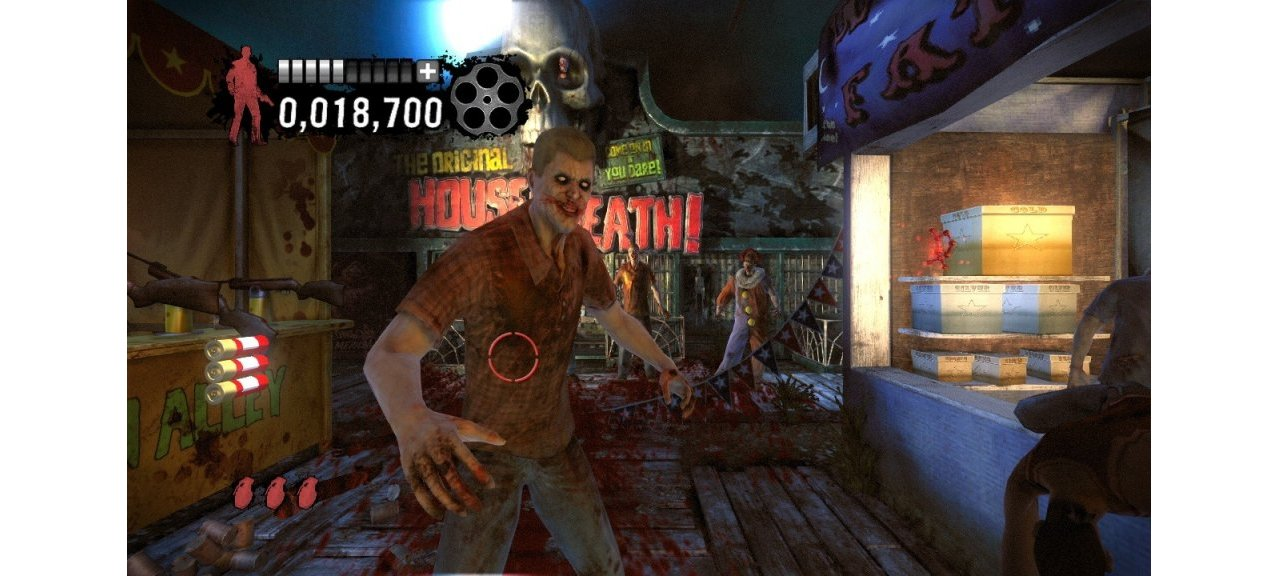 Скриншот игры House of the Dead Overkill Extended Cut для PS3