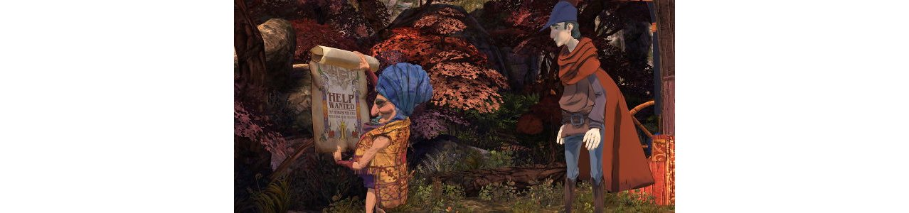 Скриншот игры King's Quest The Complete Collection для PS4