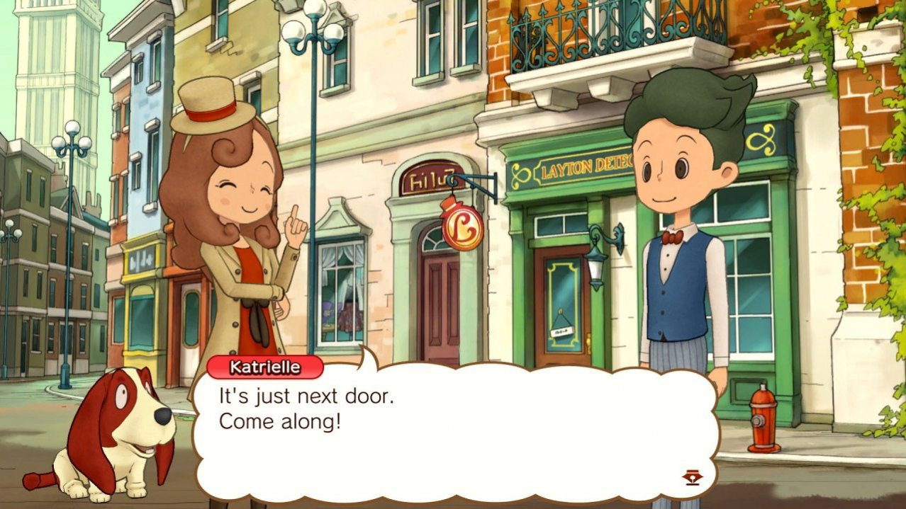 Скриншот игры Laytons Mystery Journey: Katrielle and the Millionaires Conspiracy Deluxe Edition для Switch