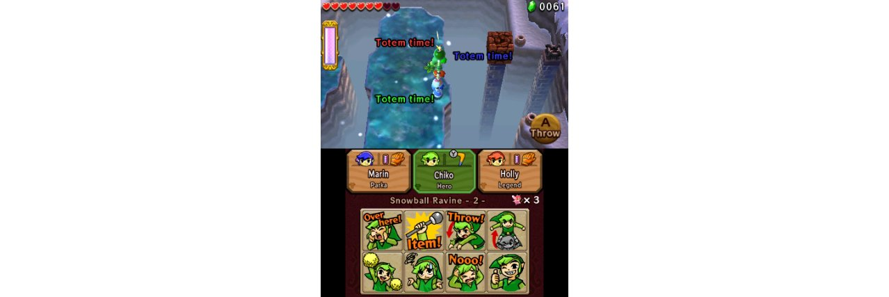 Скриншот игры Legend of Zelda: Tri Force Heroes для 3DS