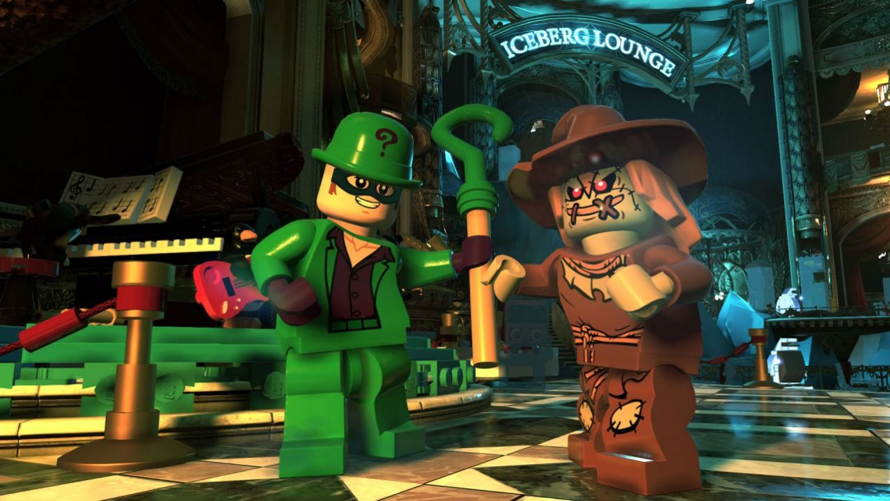 Скриншот игры LEGO DC Super-Villains Deluxe Edition для PS4