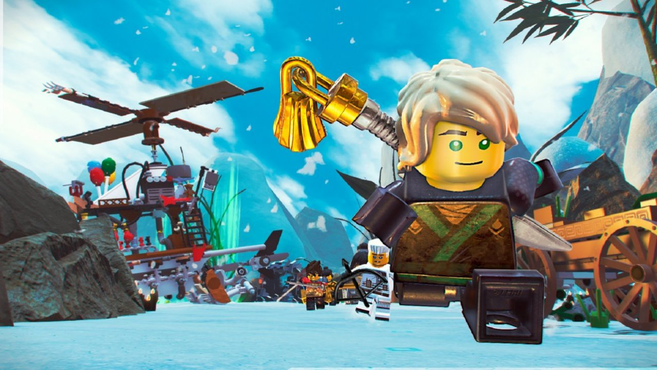 Скриншот игры LEGO Ninjago Movie Game: Videogame (Б/У) для Switch