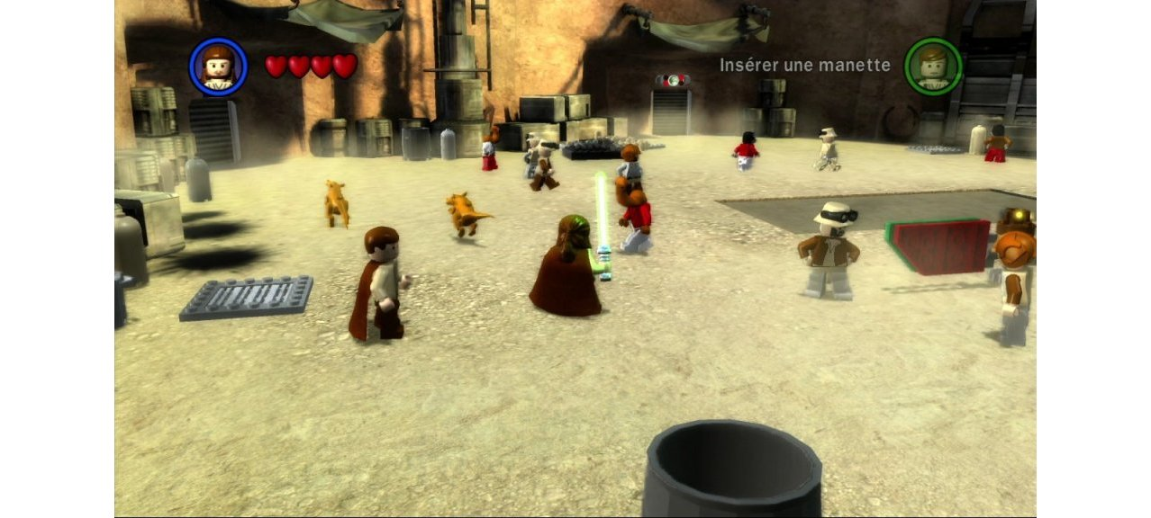 Скриншот игры LEGO Star Wars: The Complete Saga для Xbox360