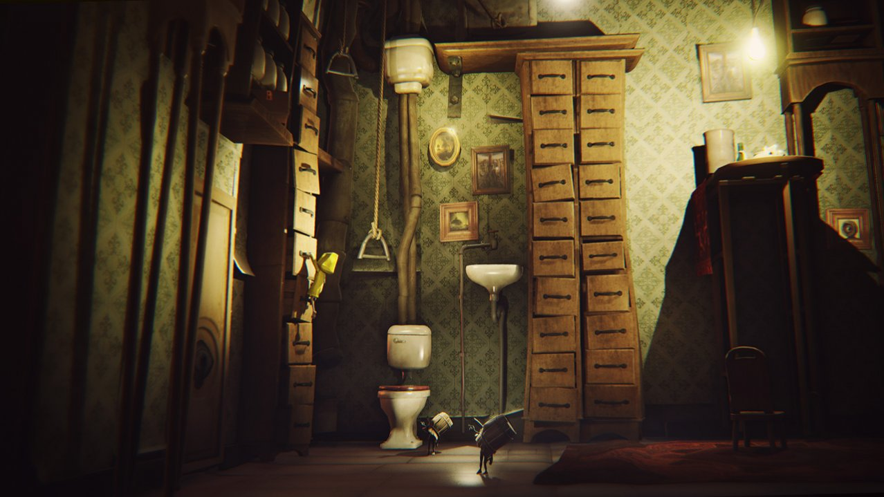 Скриншот игры Little Nightmares Complete Edition для Switch