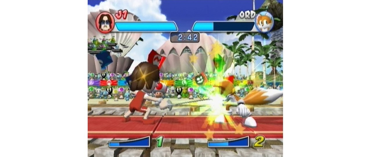 Скриншот игры Mario & Sonic at the Olympic Games для Wii