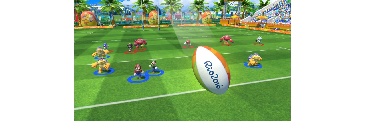 Скриншот игры Mario & Sonic at the Rio 2016 Olympics Games для 3DS