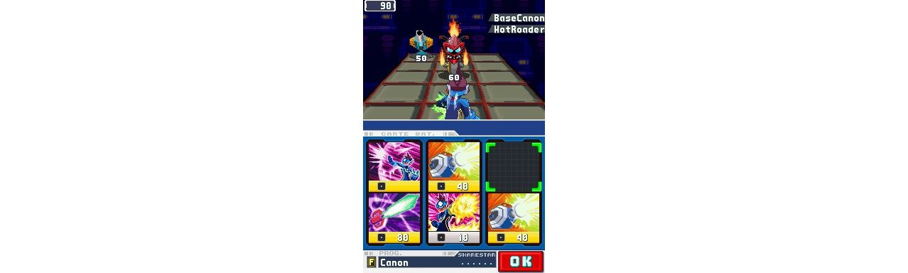 Скриншот игры MegaMan StarForce Dragon (без пленки) для 3DS