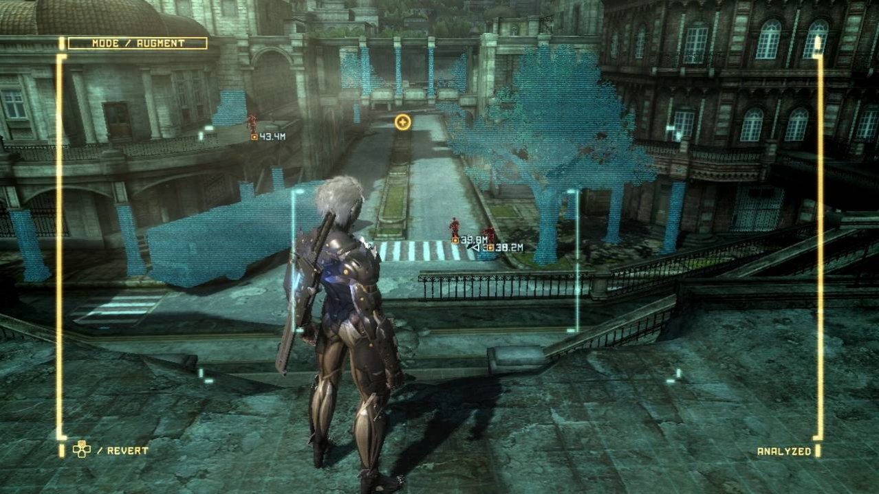 Скриншот игры Metal Gear Rising: Revengeance для PS3