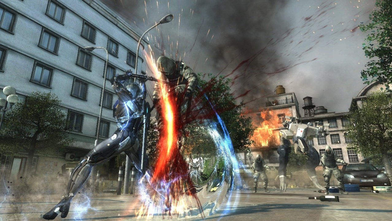 Скриншот игры Metal Gear Rising: Revengeance (Б/У) для PS3