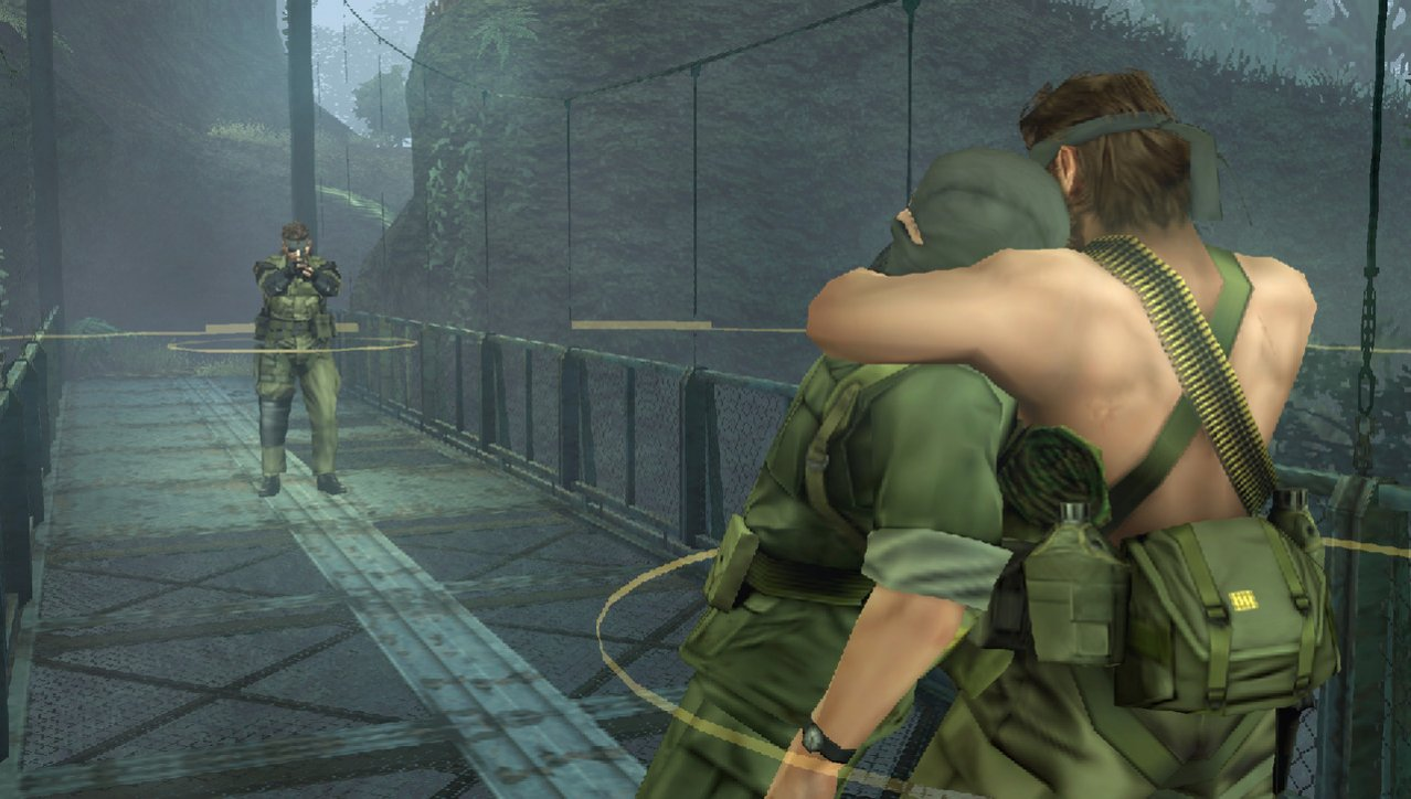 Скриншот игры Metal Gear Solid: Peace Walker для PSP