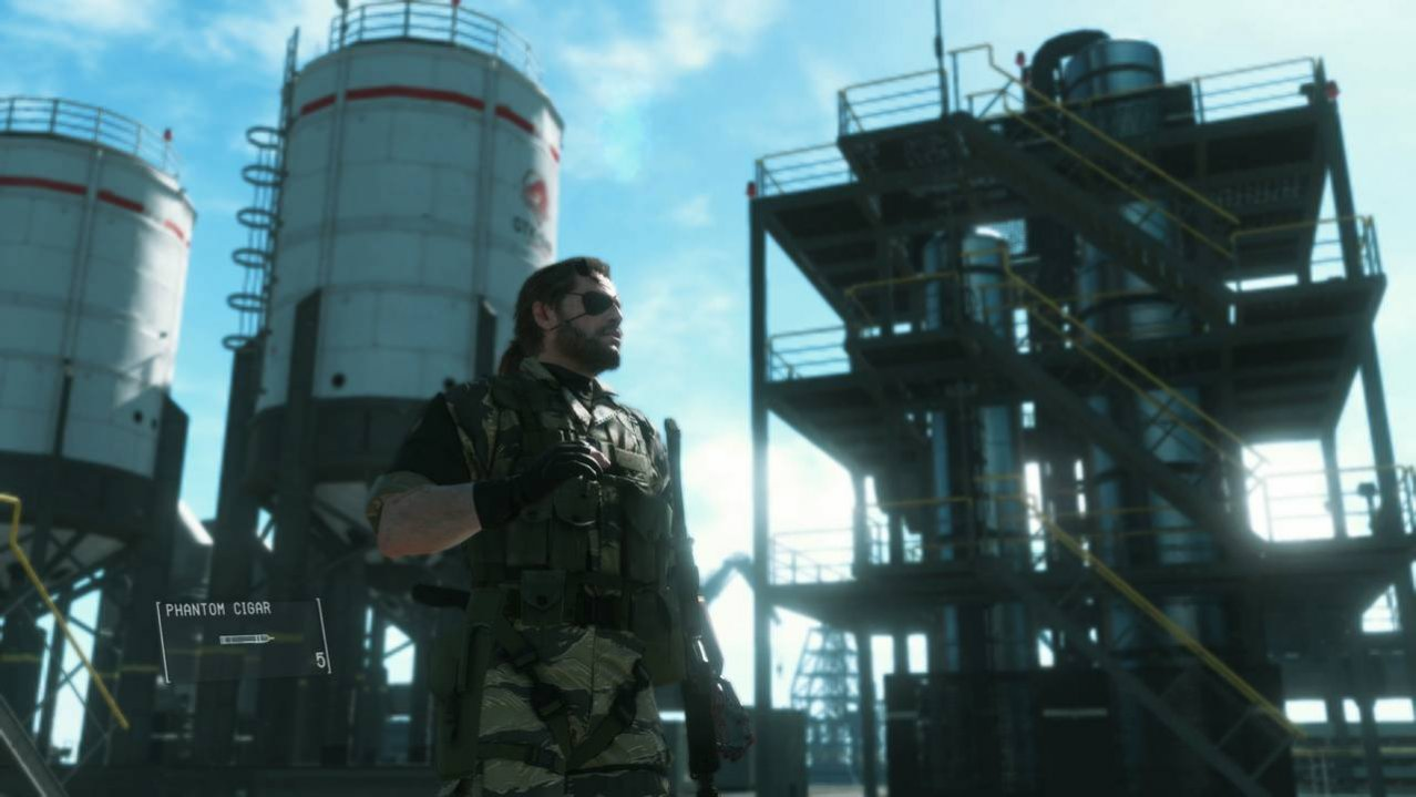 Скриншот игры Metal Gear Solid V: The Phantom Pain для XboxOne