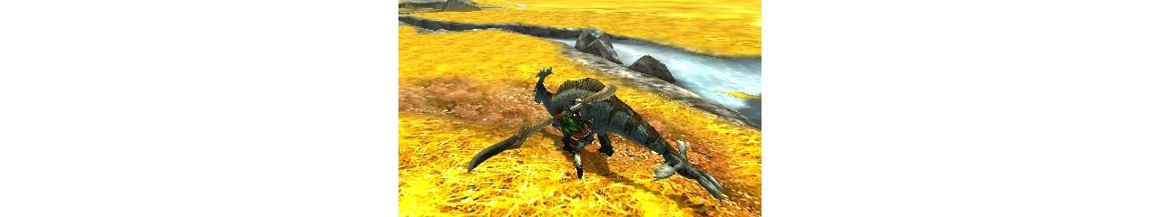 Скриншот игры Monster Hunter 4 Ultimate (Б/У) для 3DS