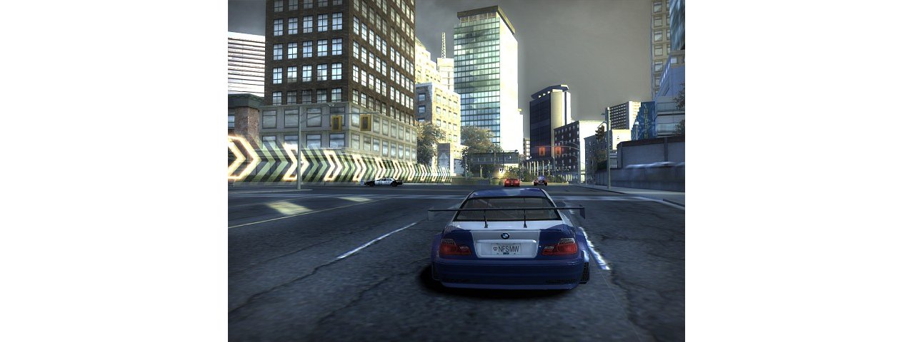 Скриншот игры Need for Speed Most Wanted 2005 для PC