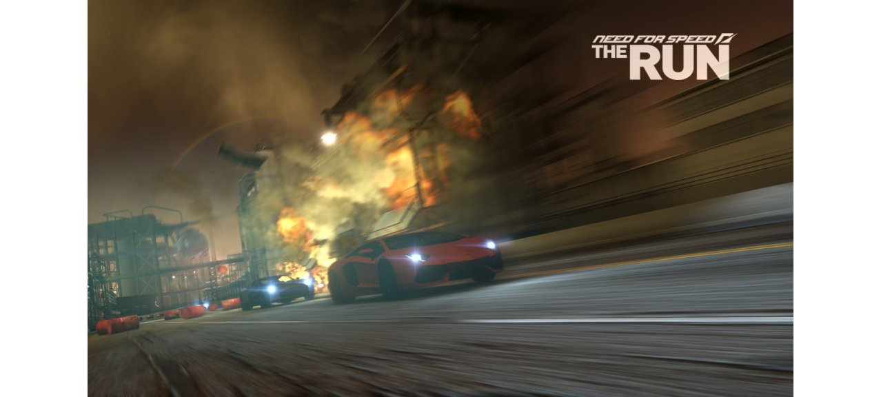Скриншот игры Need for Speed The Run Limited Edition для PC