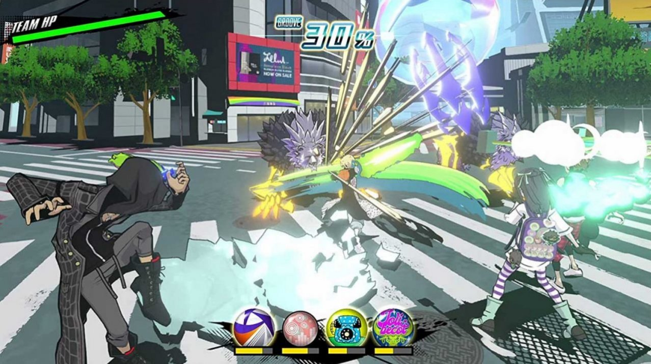 Скриншот игры NEO: The World Ends with You для PS4