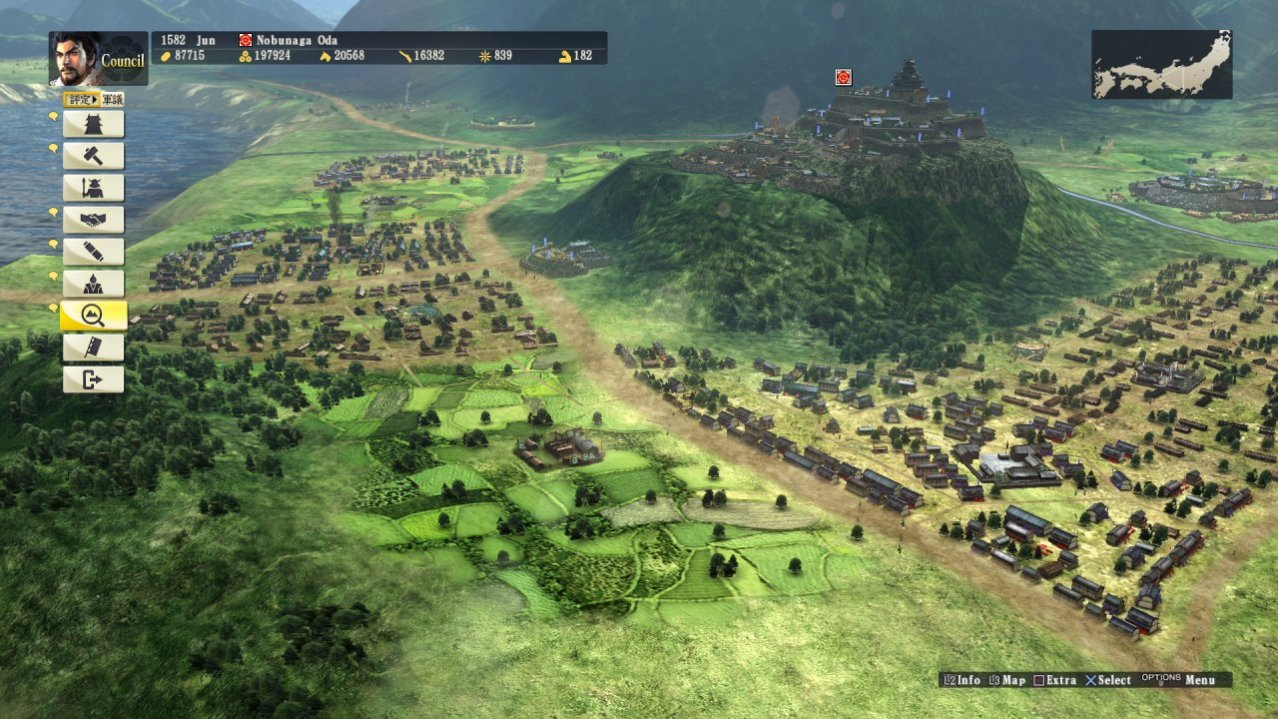 Скриншот игры Nobunagas Ambition: Sphere of Influence для PS4