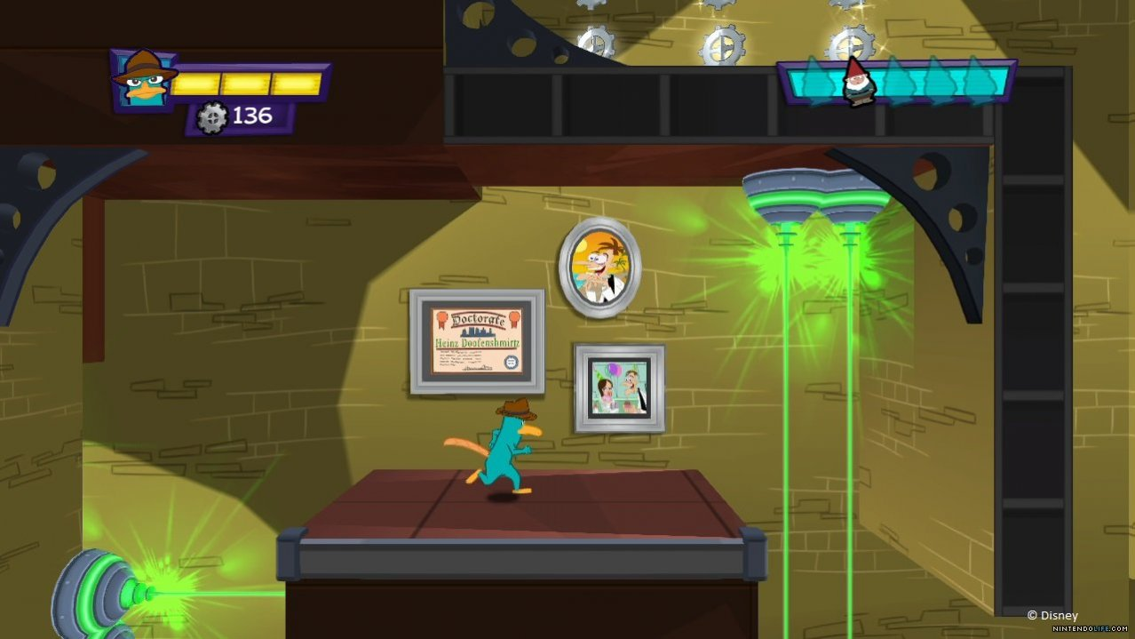 Скриншот игры Phineas and Ferb: Quest for Cool Stuff для Wii