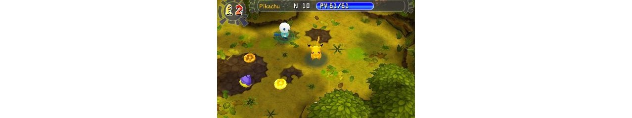 Скриншот игры Pokemon Mystery Dungeon Gates to Infinity для 3DS