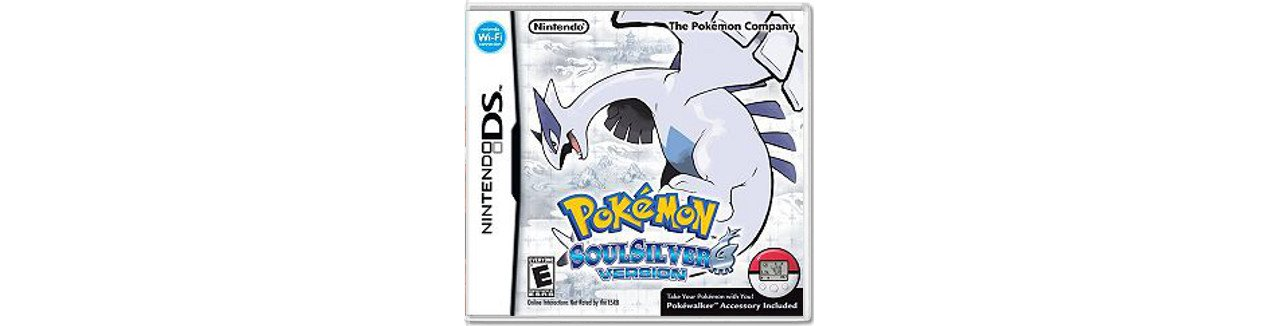 Скриншот игры Pokemon SoulSilver + Poke Walker для 3DS