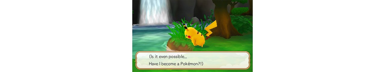 Скриншот игры Pokemon Super Mystery Dungeon для 3DS