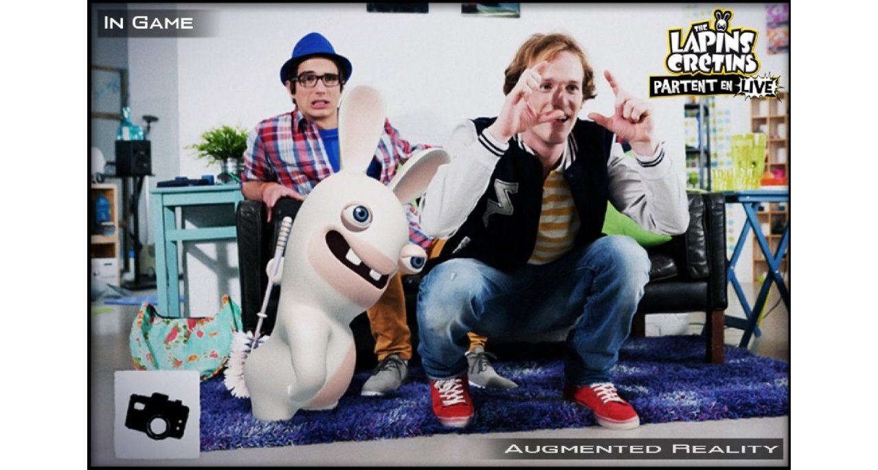 Скриншот игры Raving Rabbids Alive & Kicking для Xbox360