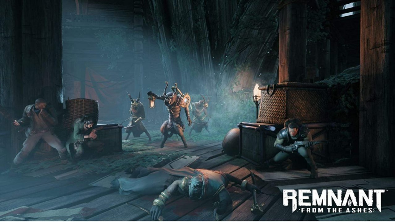 Скриншот игры Remnant: From the Ashes для PS4