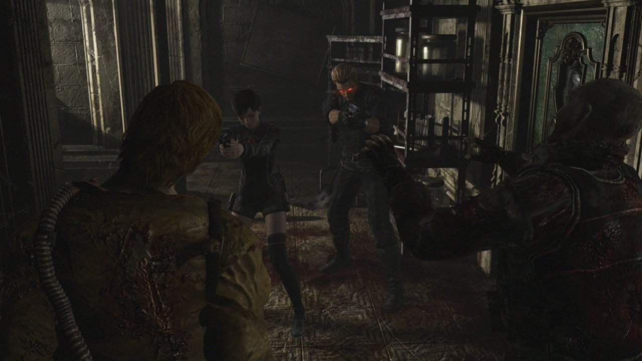 Скриншот игры Resident Evil Origins Collection для XboxOne