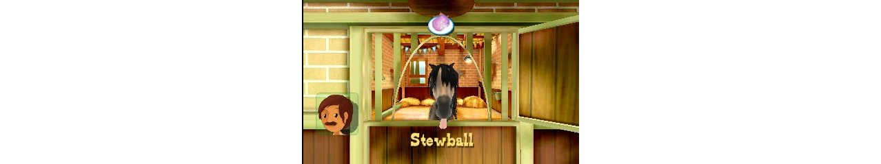Скриншот игры Riding Stables: The Whitakers present Milton and Friends для 3DS