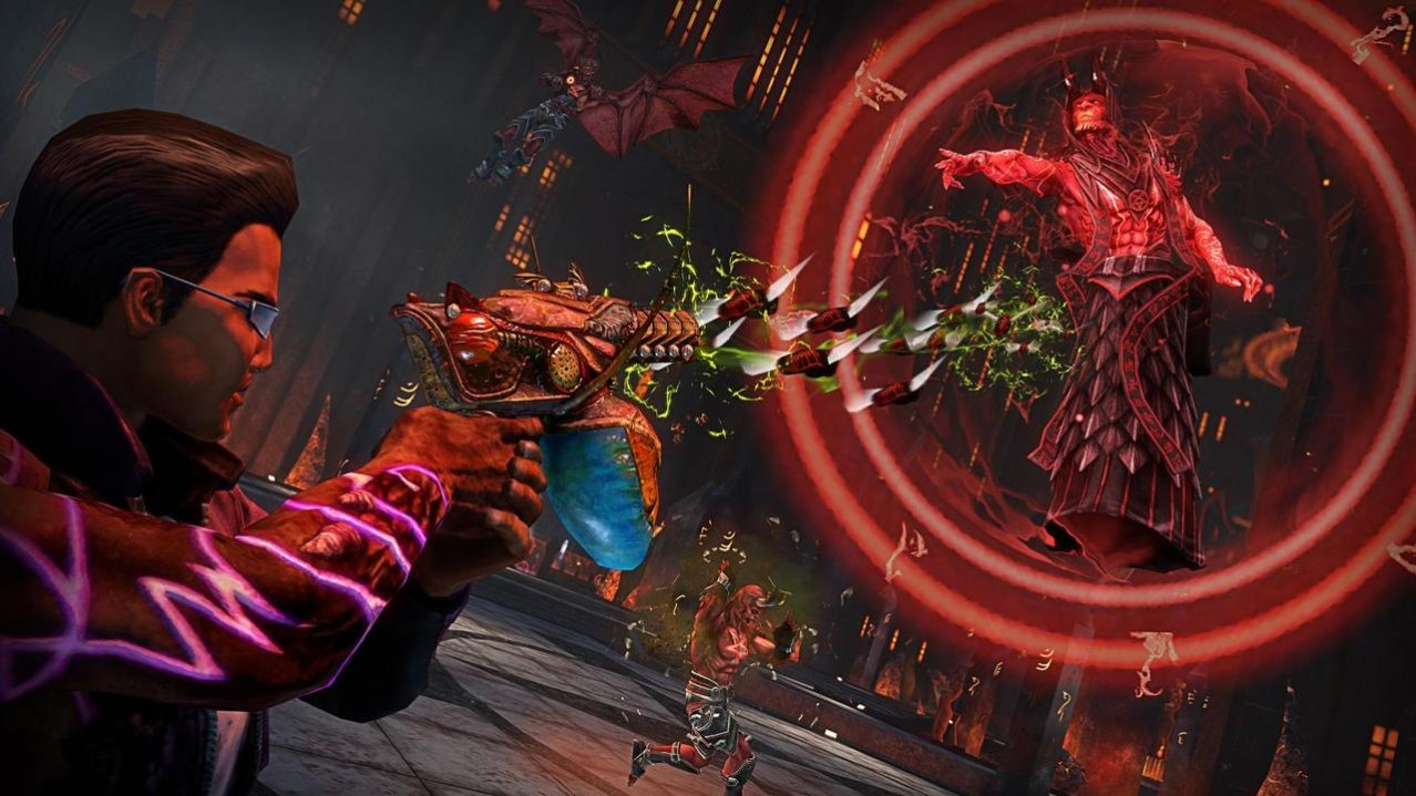 Скриншот игры Saints Row IV - Gat out of Hell (Б/У) для PS3