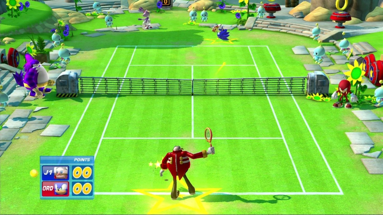 Скриншот игры SEGA Superstars Tennis (Б/У) для Xbox360