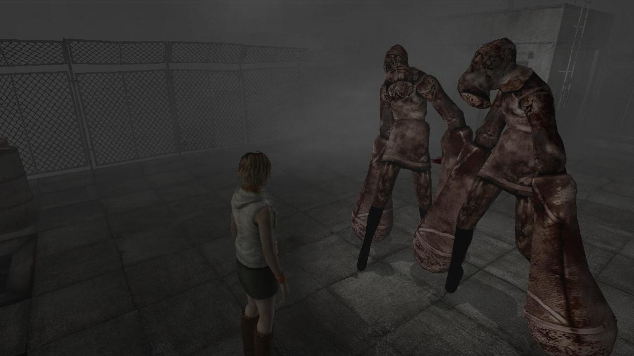 Скриншот игры Silent Hill HD Collection (US) (Б/У) для Xbox360