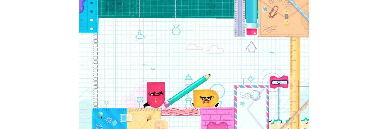 Скриншот игры Snipperclips – Cut it out, together! для Switch