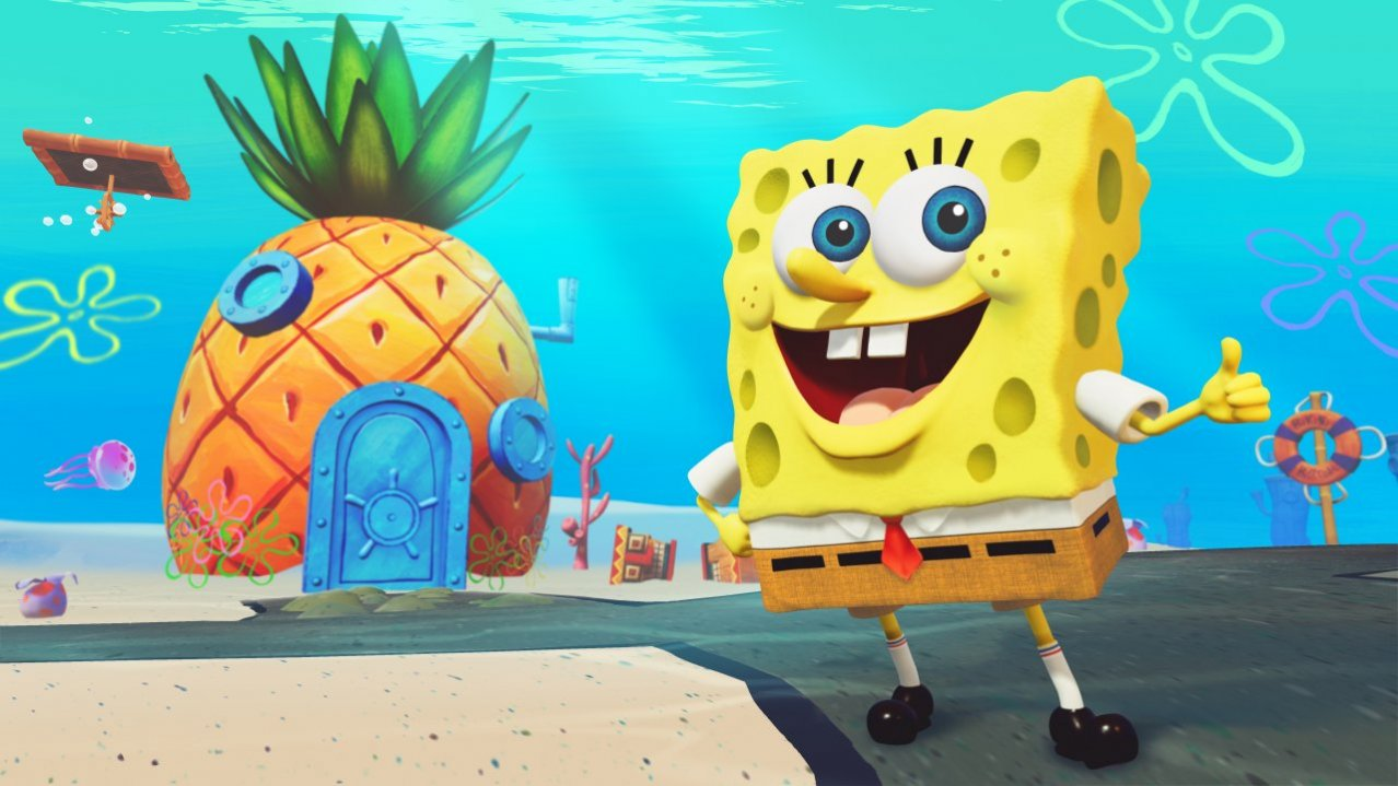 Скриншот игры SpongeBob SquarePants: Battle For Bikini Bottom - Rehydrated для XboxOne