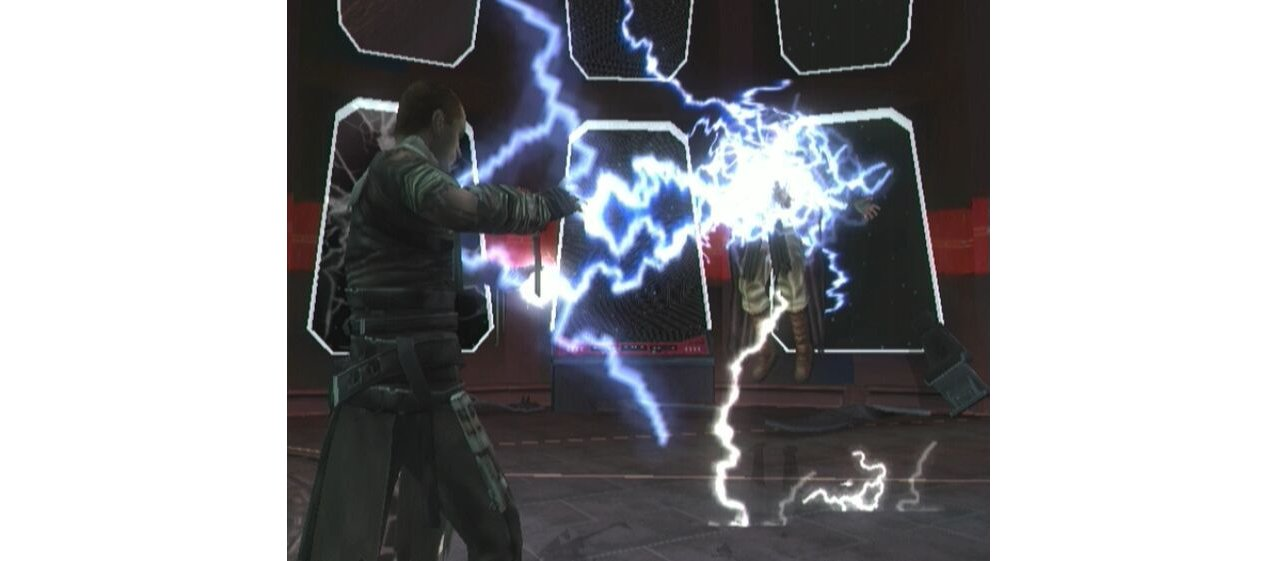 Скриншот игры Star Wars: The Force Unleashed для Wii