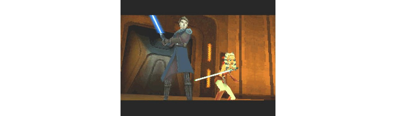 Скриншот игры Star Wars The Clone Wars: Jedi Alliance (Б/У) для 3DS