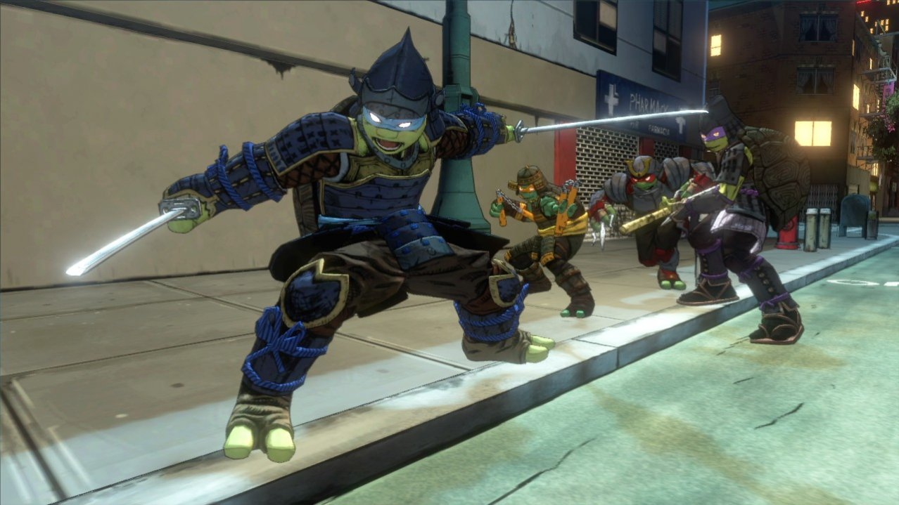 Скриншот игры Teenage Mutant Ninja Turtles: Mutants in Manhattan для Xbox360
