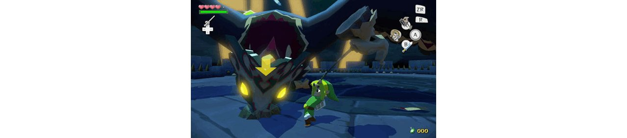 Скриншот игры Legend of Zelda: The Wind Waker HD (Б/У) для Wii