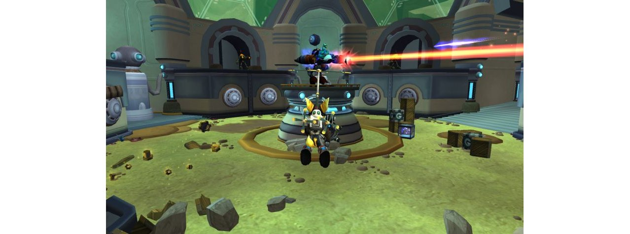 Скриншот игры Ratchet & Clank Trilogy (Б/У) для PSVita