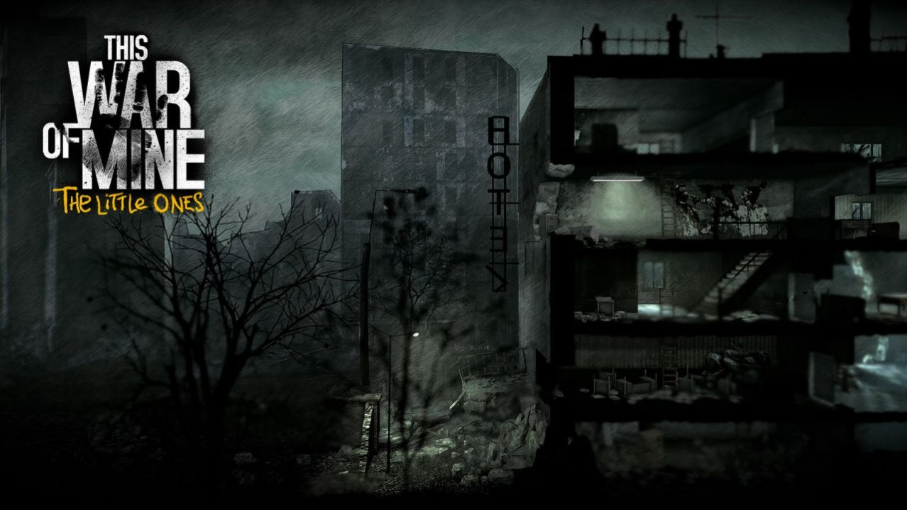 Скриншот игры This War of Mine: The Little Ones (Б/У) для PS4