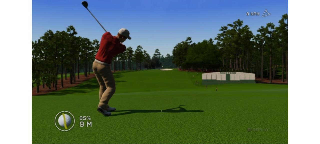Скриншот игры Tiger Woods PGA TOUR 12: The Masters для PS3