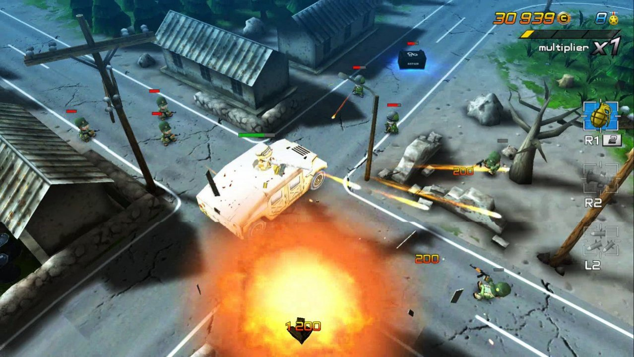Скриншот игры Tiny Troopers Joint Ops для PS4