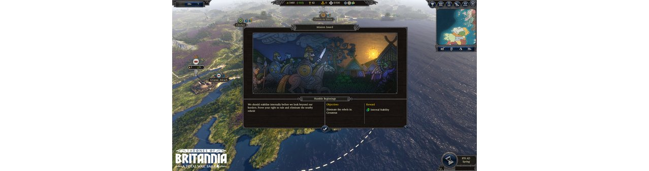 Скриншот игры Total War Saga: Thrones of Britannia для PC