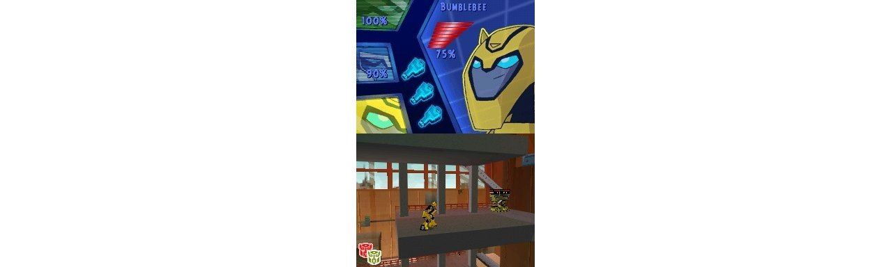 Скриншот игры Transformers Animated The Game (Б/У) для DS